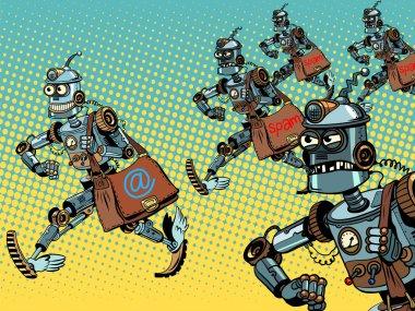 Robot mailman e-mail campaigns