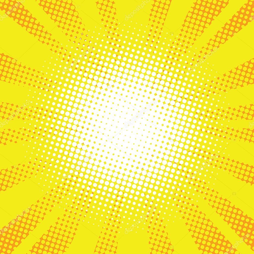 yellow rays vector - photo #31