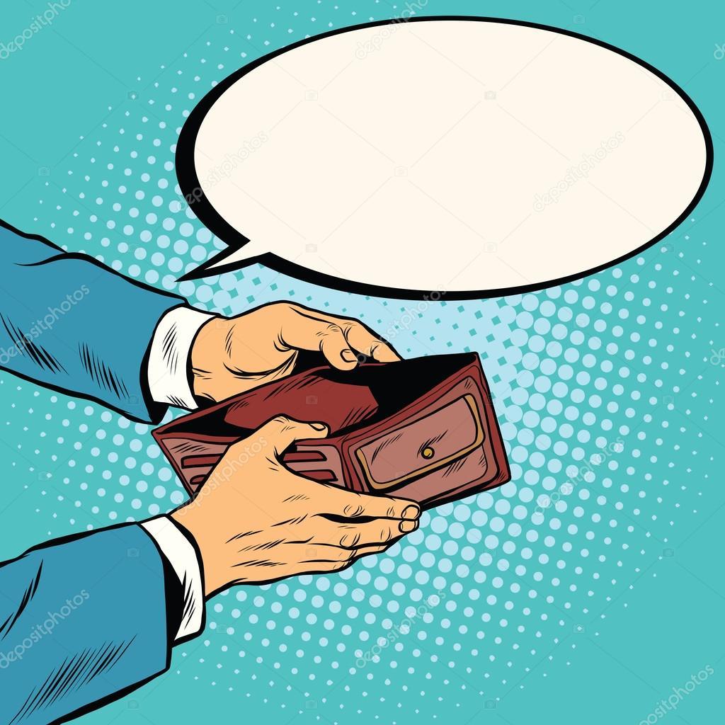 Raccoglitore vuoto senza soldi vettoriali stock studiostoks 117799994 - Acquistare immobili senza soldi ...