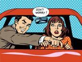 Řízení školy řidič žena auto