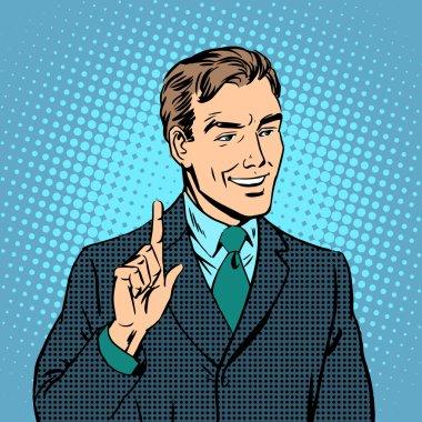 Businessman teacher expert professional