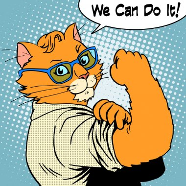 Cat success we can do it