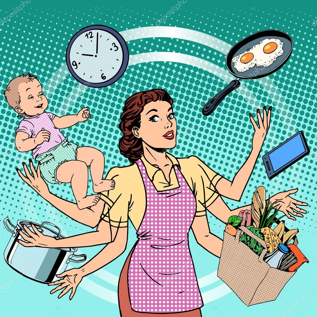 housewife vs working woman an evaluation essay Many women today are facing choices that their mothers never had to face one of these choices is whether or not to go back to work after having a child when thinking of working women, two models come to mind one of which is paid employment that has a protective and beneficial mediating.