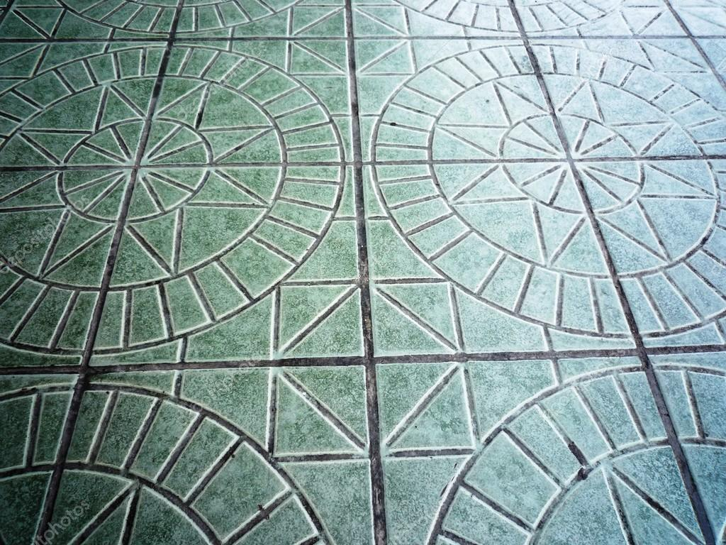 Ceramic floor tile pattern in star and circle shape — Stock Photo ...