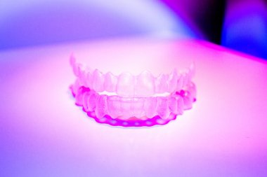 Invisible dental teeth brackets tooth aligners plastic braces