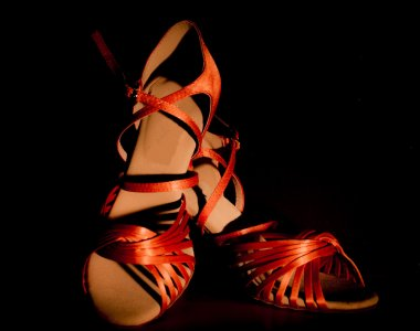 Latin and salsa dance shoes for ladies