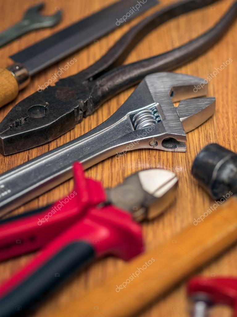 Tools on the floor