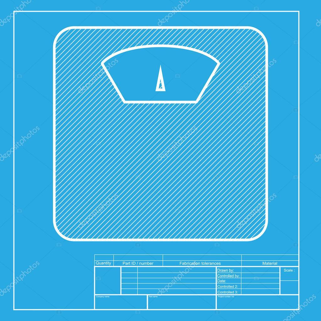 Salle De Bain Action ~ signe de balance de salle de bains section blanche d ic ne sur le