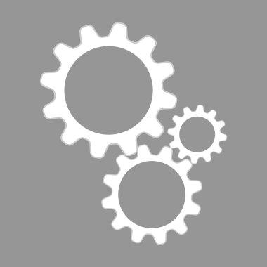 Flat  settings icon