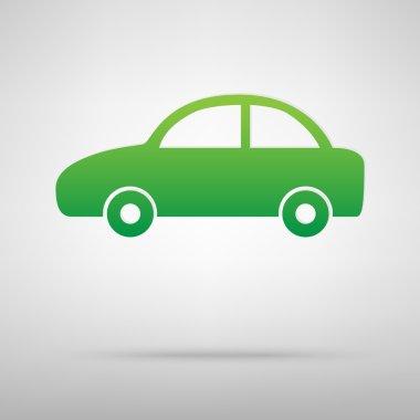 Car green icon