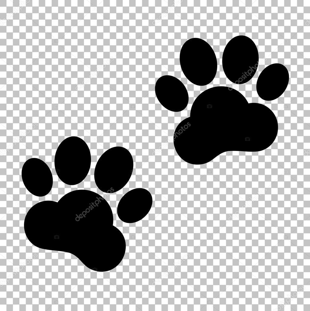 Cone de vetor preto isolado em fundo transparente vetor for Red transparente para gatos