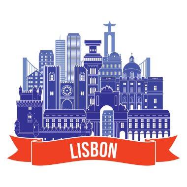 lisbon city icon