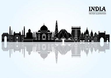 india detailed panorama