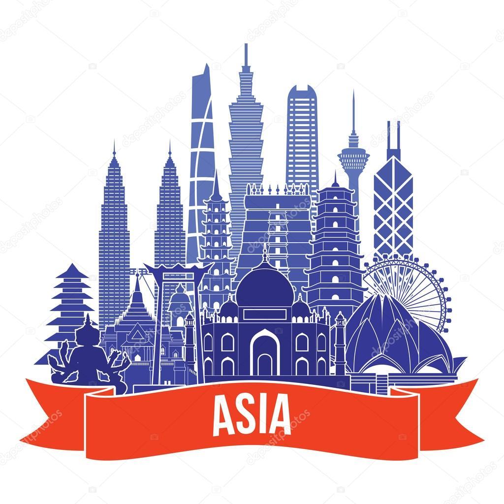 asia travel icon