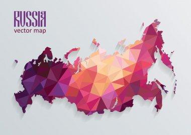 Russian map illustration