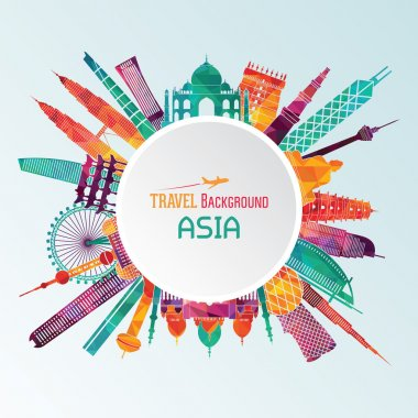 Famous monuments of Asia