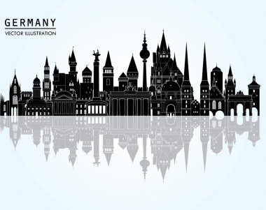 Travel Germany  skyline