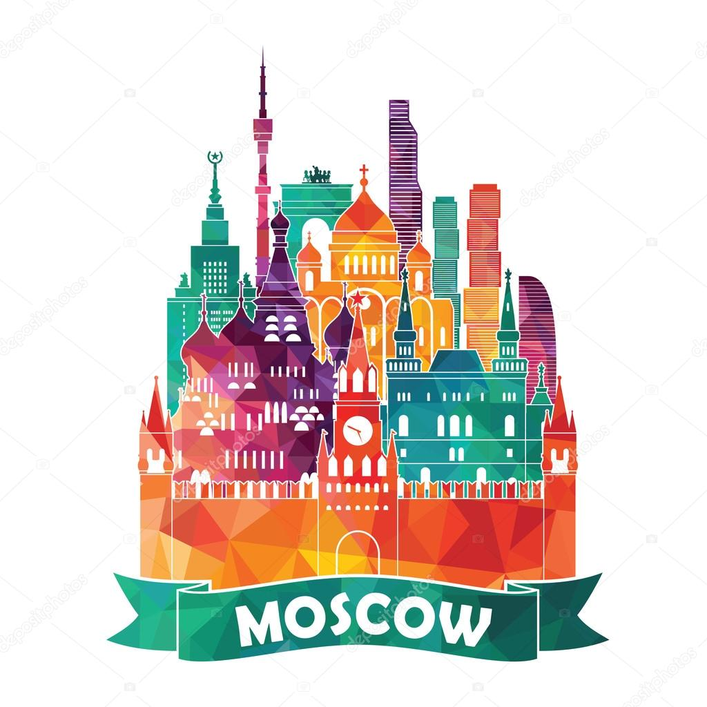 Moscow city  illustration