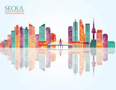 Seoul tourism background
