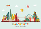 Fotografie Londýn podrobné Panorama