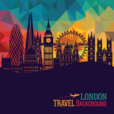 London detailed Skyline