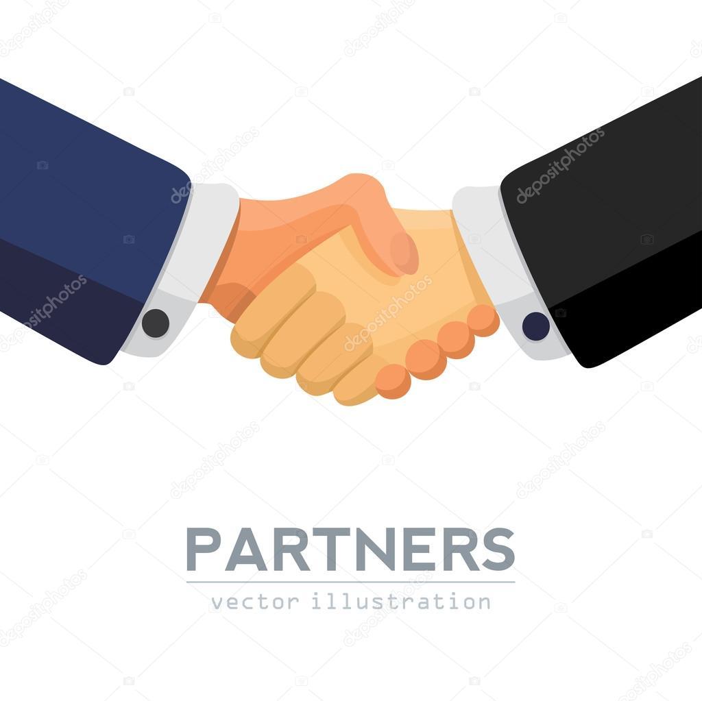 握手ビジネスマン合意 — ストッ...