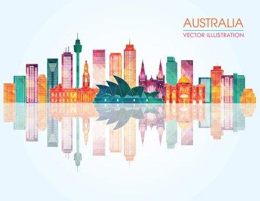 Travel Australia famous landmarks skyline