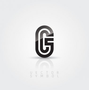 Elegant and creative line letter G