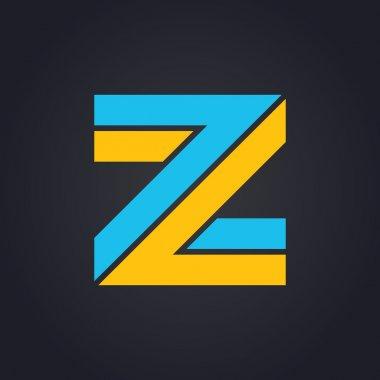 Graphic elegant letter Z