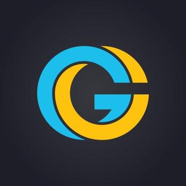 Graphic elegant letter G