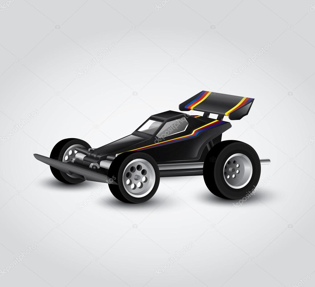 race car model — Stock Vector © feabornset #73911475