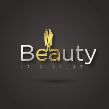 Beauty salon logo template