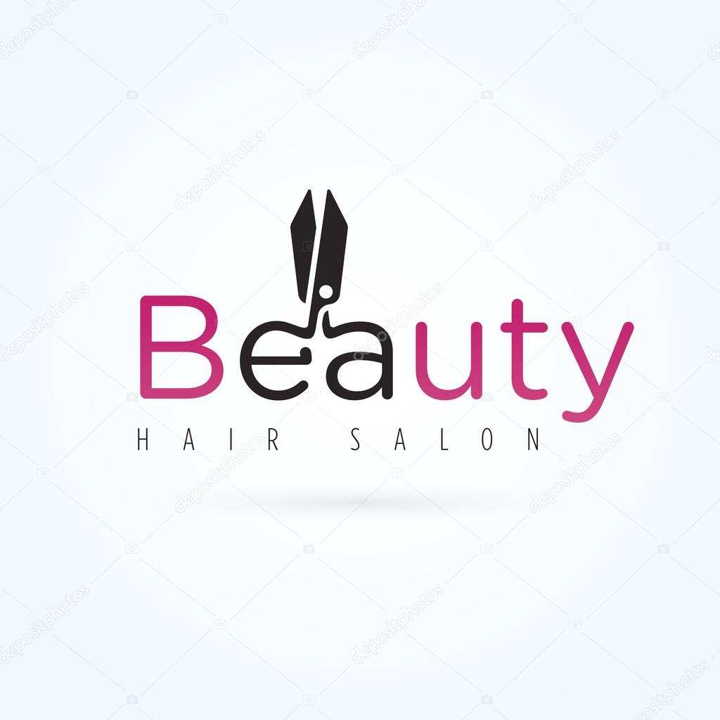 Beauty Salon Logo Template Stock Vector 80111084