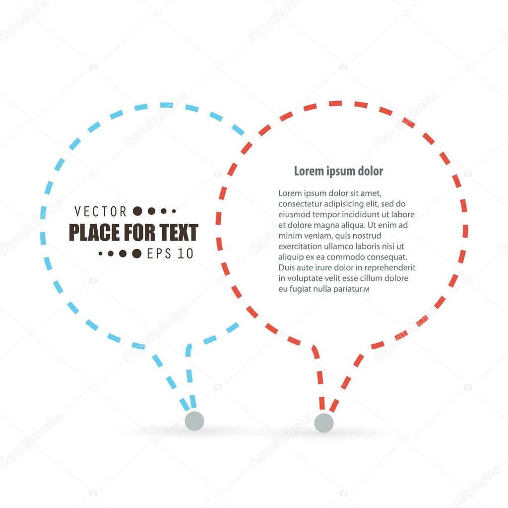 Abstract concept vector empty speech square quote text bubble abstract concept vector empty speech square quote text bubble ccuart Choice Image