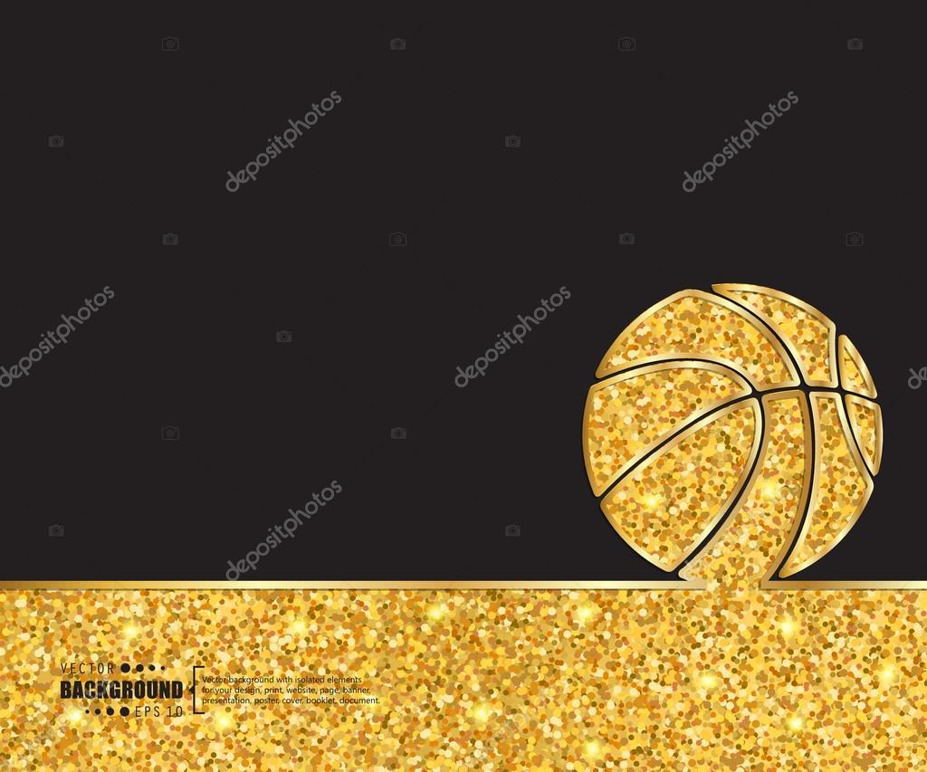 Creative Vector Basketball Art Illustration Template Background