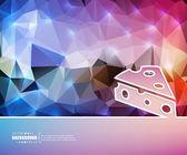 Abstraktní kreativní koncept vektorové pozadí. Pro web a mobilní aplikace, obrázek šablony design, obchodní infografiku, brožura, banner, prezentaci, plakát, kryt, brožury, dokument