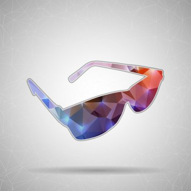 Icon of sun glasses for Web and Mobile Applications