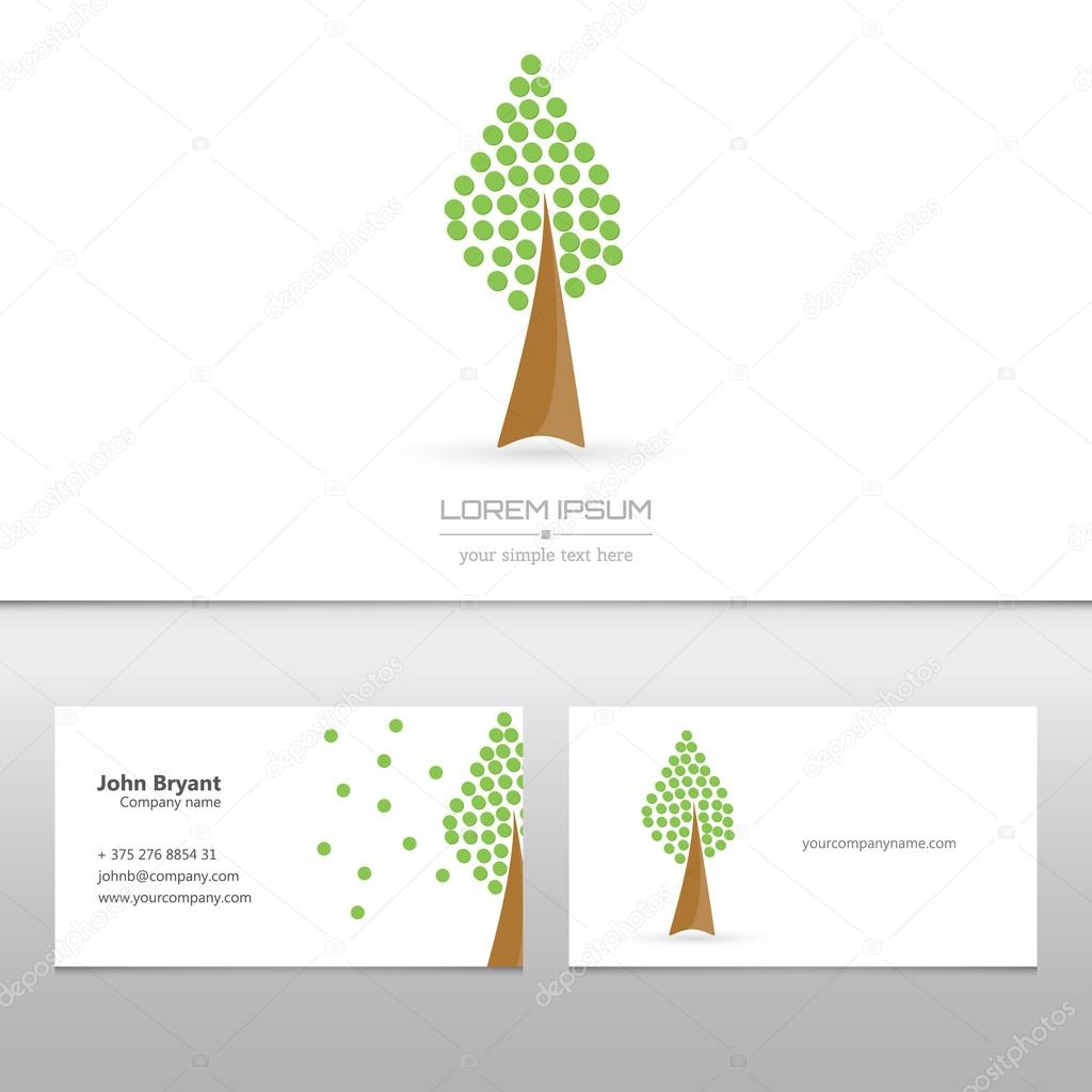 Abstract concept creative vector tree logo tree with colorful application infographics icon. Art illustration creative template design, Business software and social media symbol.