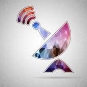 Satellitenschüssel-Symbol