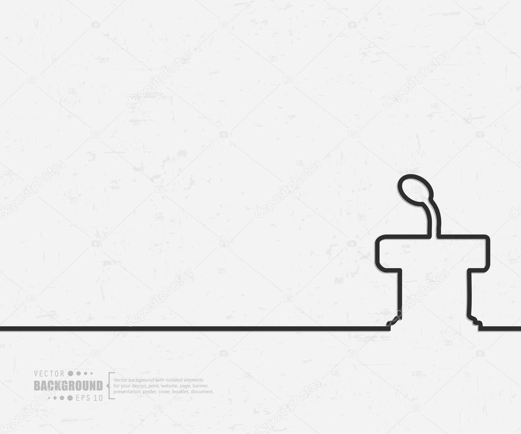 Zusammenfassung kreative Vektor-Hintergrund für Web und Mobile ...