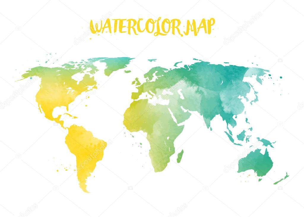 Abstract creative concept vector map of the world for web and mobile abstract creative concept vector map of the world for web and mobile applications isolated on background vector illustration creative template design gumiabroncs Images