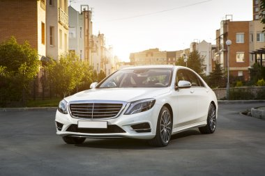 Premium car white