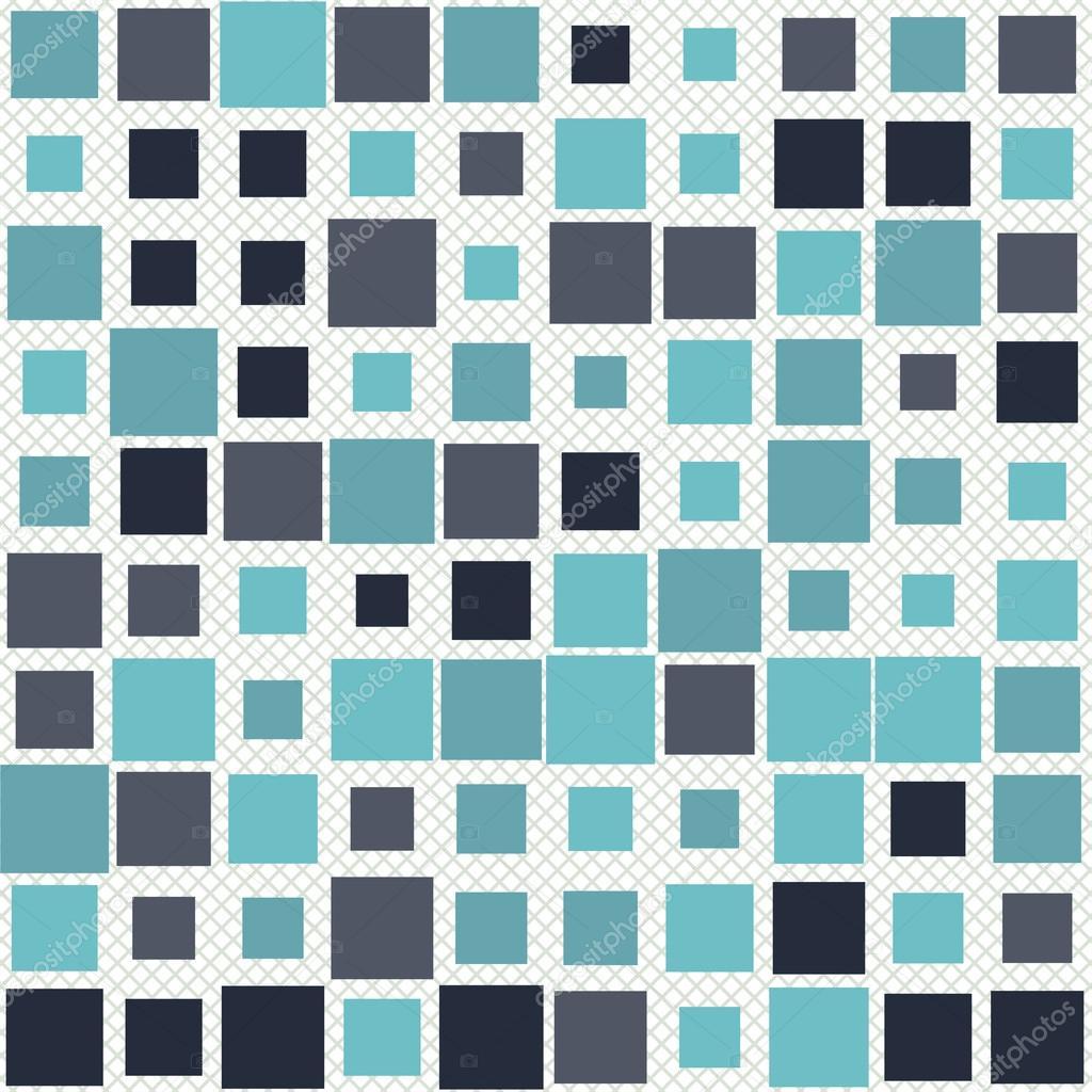 Cool Abstrakte Muster Quadrate Muster In Verschiedenen Farben