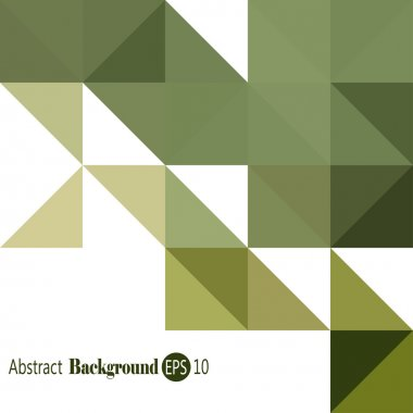 Abstract Pattern - Triangle and Square pattern in colors