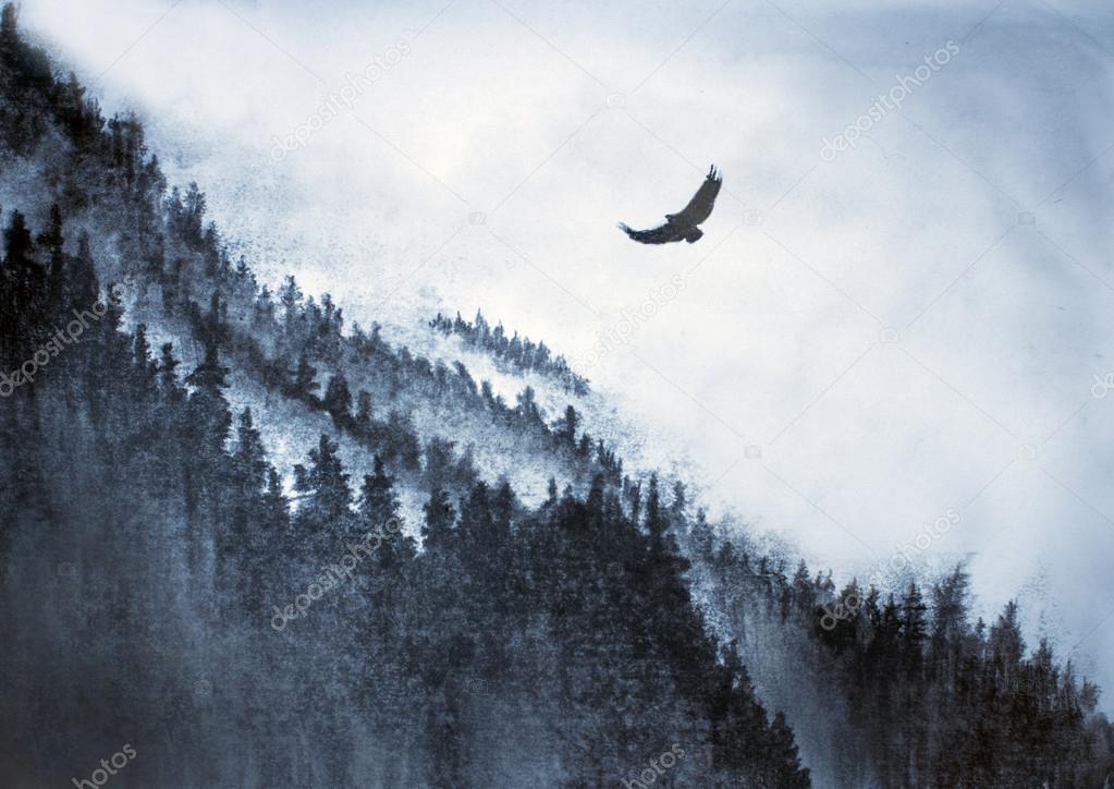 Image result for aguia vonda em montanha