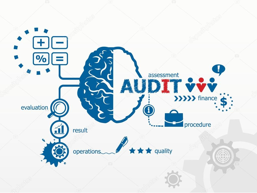 Audit - analyze the financial statement of a company.