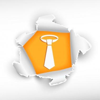 Men's business tie