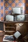 régi televízió