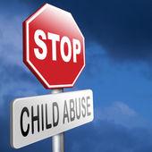 Fotografie Schluss mit Kindesmissbrauch