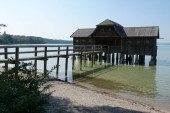 Bootshaus bei Eching am Ammersee